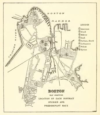 US Immigration Commission investigates Boston, 1911