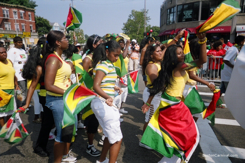 Boston Caribbean Carnival In 2007. Courtesy Of  BostonCarnival.com.