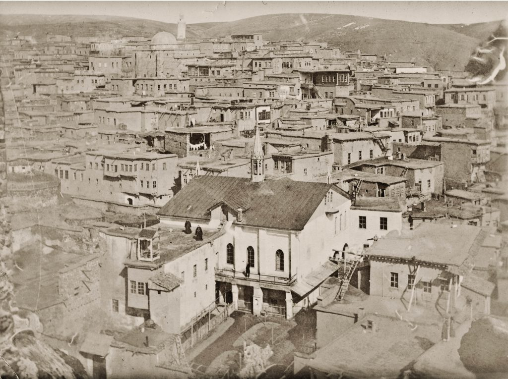 Kharpert in Western Armenia, the homeland of many Armenians in Massachusetts, ca. 1915. Project SAVE Armenian Photograph Archives, Watertown, MA.
