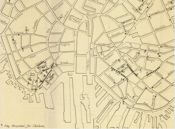 The Cholera Epidemic Of 1849