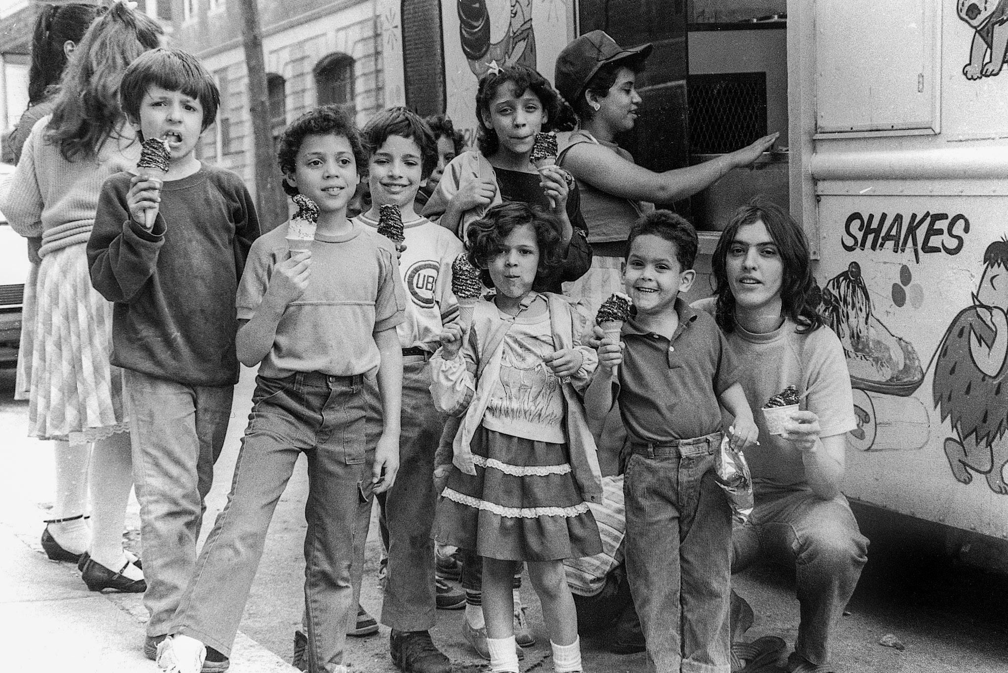 By the 1970s, Puerto Rican and Latino newcomers were becoming a visible part of Chelsea life. Photo by Arnie Jarmak.