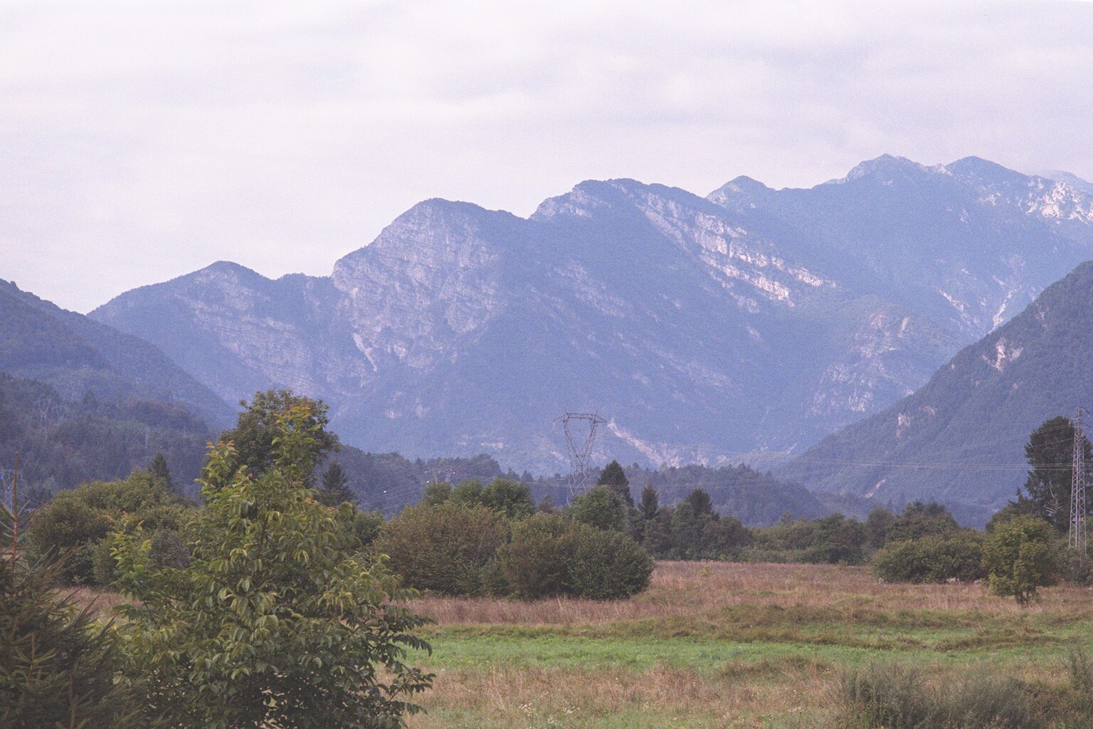 View of the mountains near Tramonti di Sotto in northern Italy, home region of many who settled on Norfolk Avenue.