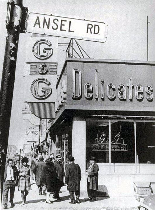 Located on Blue Hill Avenue, the G&G Deli served up corn beef with a side order of politics from 1948 to 1968.